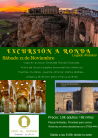 cartel viaje a Ronda